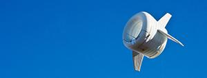 Над Аляской запускают надувные ветряные турбины
