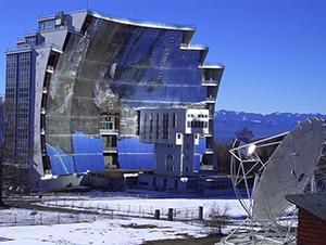 Самая большая в мире солнечная печь