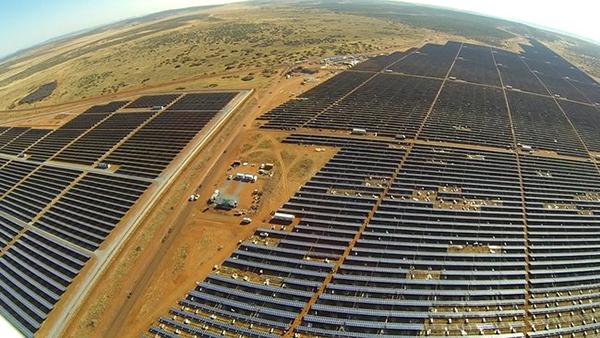 Крупнейшая солнечная электростанция Африки