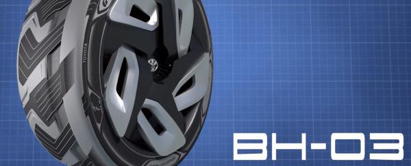 Goodyear представил прототип автомобильной шины, которая вырабатывает электричество