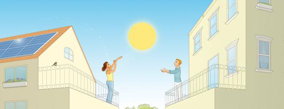 Yeloha - партнерская сеть для обмена солнечной энергией
