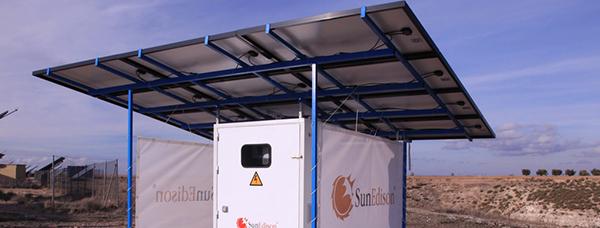 Компактная солнечная электростанция Outdoor Microstation