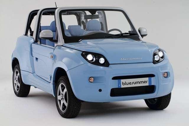 Ситроен представляет новый электромобиль Bluesummer