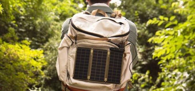 Solar Paper — новое портативное зарядное устройство на солнечны батареях