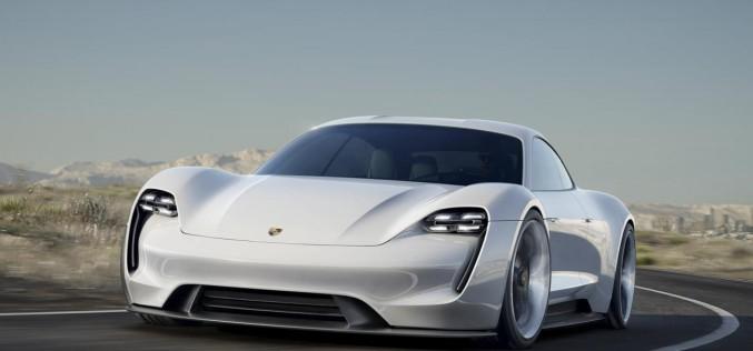Концепт Porsche Mission E дебютировал во Франкфурте
