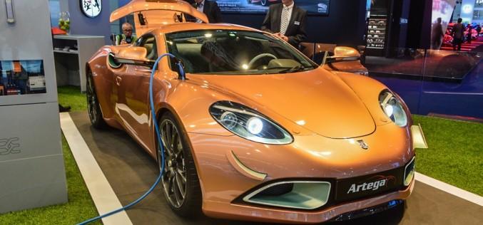 Новый электрический спорткар Artega Scalo