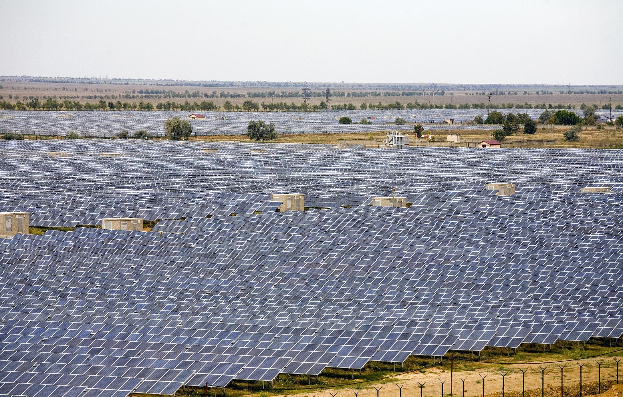 Солнечная энергетика в Украине