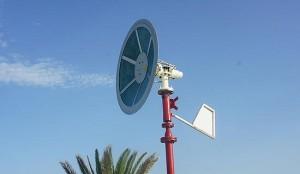 Новый безлопастной прототип ветряного генератора