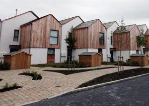 В Великобритании заселяется первая экологически чистая улица