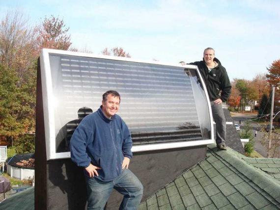 Как сделать солнечный коллектор из жестяных банок