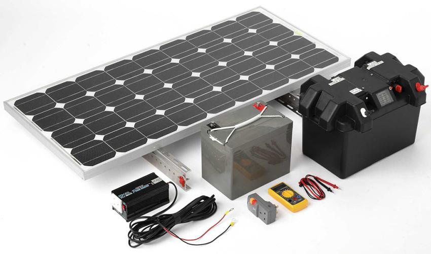 Комплект-оборудования-с-уже-готовой-к-непосредственной-установке-солнечной-батереей