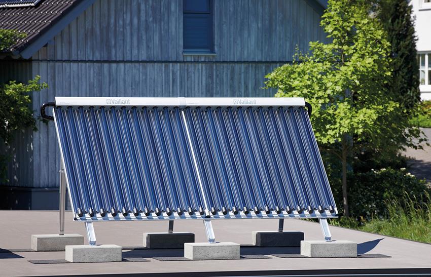 Виды солнечных водонагревателей