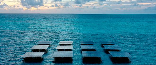 На Мальдивах запустили крупнейшую в мире плавучую солнечную электростанцию